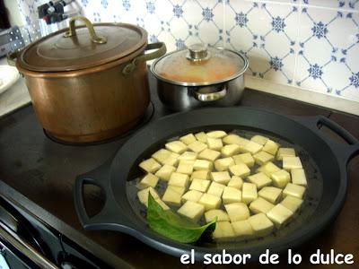 cocina de hierro
