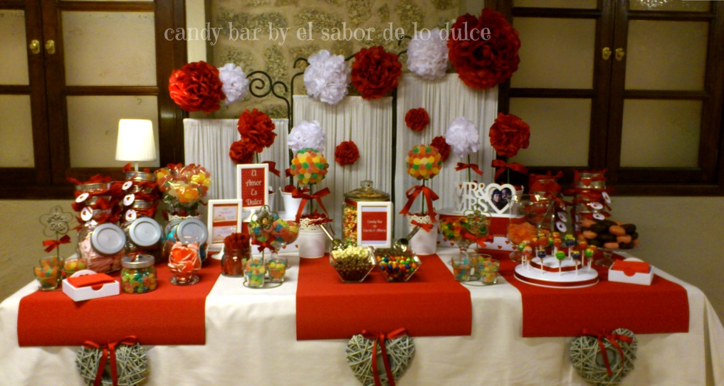 candy bar carola y alberto