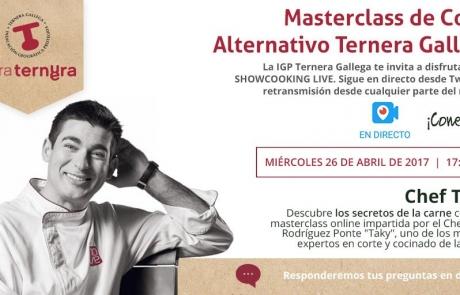 Masterclass online de Ternera Gallega con Taky