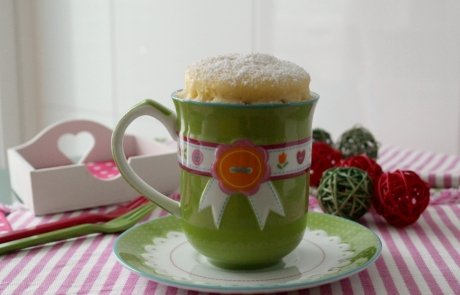 MUG CAKE: bizcocho en microondas