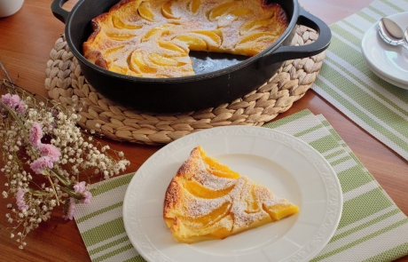 DUTCH BABY DE MELOCOTÓN