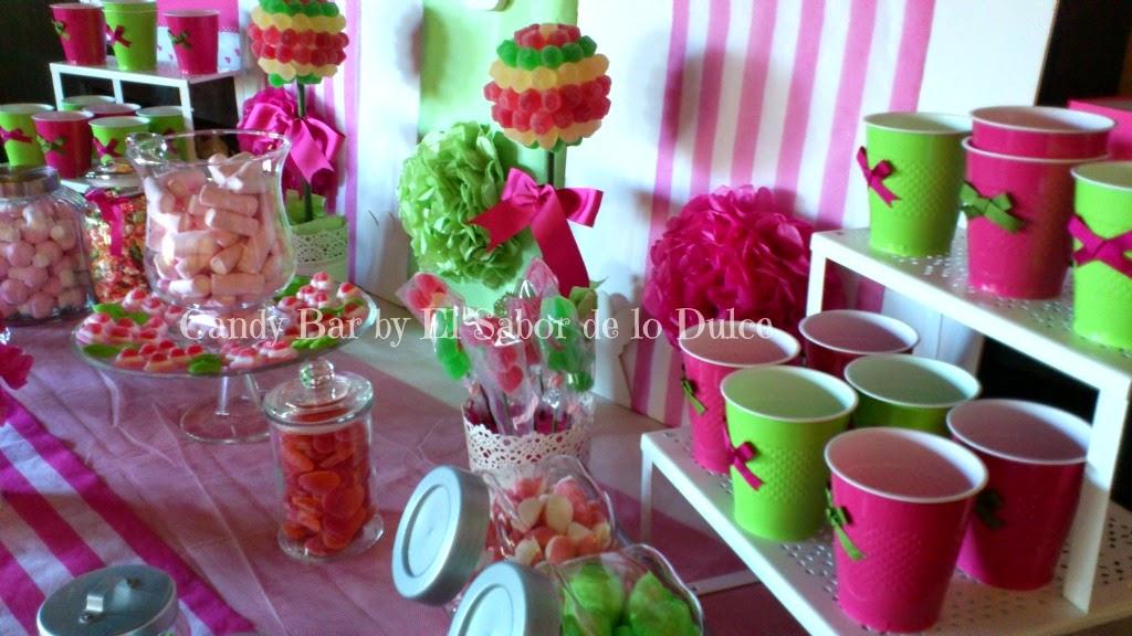 El sabor de lo dulce candybar para la comunion de jimena for Programas de decoracion online